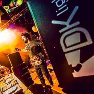 DK Light on duty! @holipeacebudapest  #sound #light #video #rcf #hdl20a #chauvet #chauvetdj #monitorspeakers #dj #budapest #colorfest